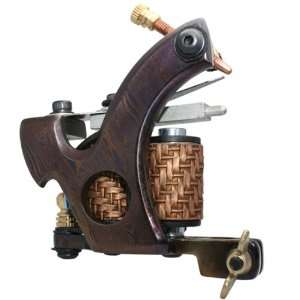 Damascus Steel Handmade Tattoo Machine Liner Gun Equips e010727