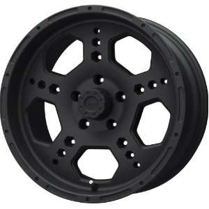Metal Gatlin Series Matte Black Wheel (22x9.5/8x165.1mm) Automotive