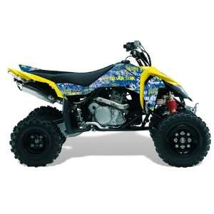 Silver Star AMR Racing Suzuki LTR 450 2005 2011 ATV Quad Graphic Kit