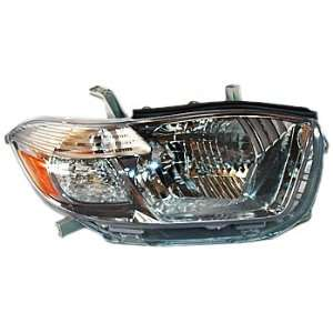 TYC 20 6897 91 Toyota Highlander Passenger Side Headlight