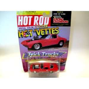 Racing Champions Hot Rod Hot Vettes Trick Trucks 1963