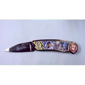 Franklin Mint Richard Petty Collectors Folding Knife