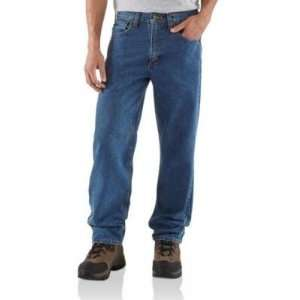 Carhartt Relaxed Fit Jean Straight Leg Mens 28/30 Sports