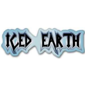 Iced Earth heavy metal music sticker decal 6 x 2