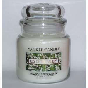 Lily of the Valley   14.5 Oz Medium Jar Yankee Candle