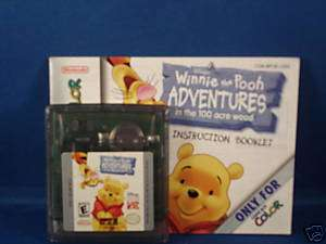 Winnie The Pooh Adventures W/Book (GBC)***KIDS GAME***