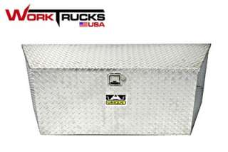 Trailer, Truck or RV Tongue Toolbox Diamond Plate 34   ATV Trailers