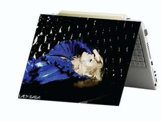 Lady Gaga Laptop Netbook Skin Decal Cover Sticker