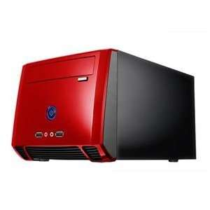 Athenatech, Mini ITX Tower Black/Red (Catalog Category Cases & Power