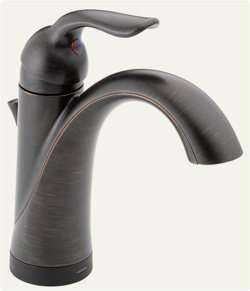Delta 538T RB DST Lahara Single Handle Lavatory Faucet with Touch2O.xt