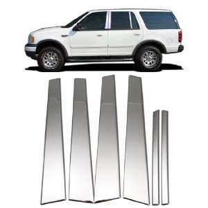 97 02 FORD EXPEDITION PILLAR COVER TRIM STAINLESS