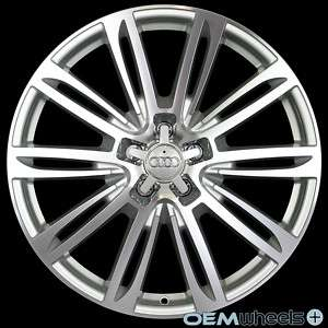 20 SILVER S LINE A7 STYLE WHEELS FITS AUDI A5 S5 RS5 B8 8T COUPE