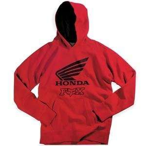 Fox Racing Honda Hoodie   X Large/Red Automotive