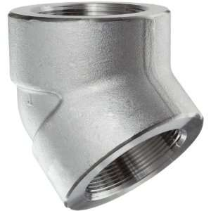 316/316L Forged Stainless Steel Pipe Fitting, 45 Degree Elbow, Class