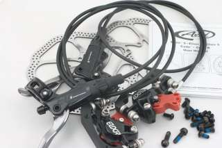 2012 AVID Elixir 9 Disc Brake,HS1 Rotor,Black,Front & Rear