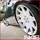 INFINITI G35 SEDAN MRR HR3 SILVER VIP CONCAVE STAGGERED RIMS WHEELS