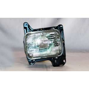 OE Replacement Nissan/Datsun Pickup Driver Side Headlight