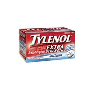 Tylenol Extra Strength Pain Reliever & Fever Reducer, Cool Caplets, 24