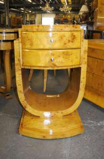 Art Deco Chest Cabinet Side Table Cocktail