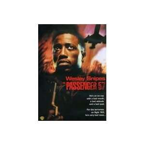 New Warner Studios Passenger 57 Type Dvd Action Adventure
