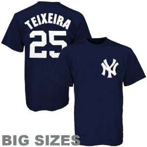 Tall New York Yankees #25 Name and Number T Shirt