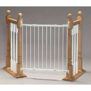 Safeway Wall Mount Stair Top Gate Angle Mount White 28