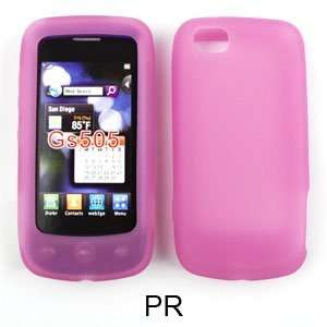 Lg Sentio Gs505 Light Purple Silicone Gel Case Everything