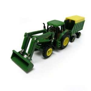 John Deere Tractor Loader with Forage Wagon Toys & Games