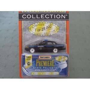Montana Highway Patrol Matchbox Premiere Series 18 State Police