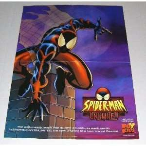 1999 Spider man Unlimited Fox Kids Saturday Cartoon Marvel Promo