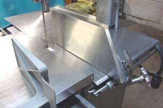 Commercial Butcher Shop Meat & Bone Band Cutting Saw NICE