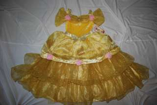 New  Deluxe Princess Belle Costume SOLD OUT FANCY X Small