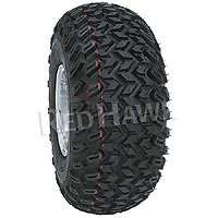 22x11 10 AT Duro Desert Golf Cart Tires w/ Black Wheels
