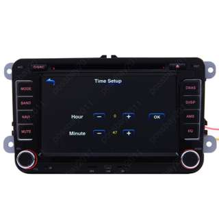 VW Polo 09 11 Car GPS Navigation TV DVD  AUX IPOD Radio USB