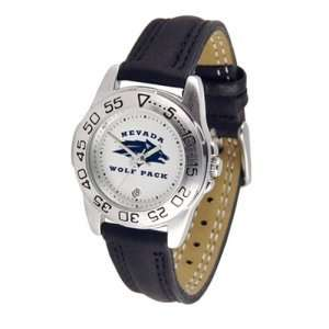 Nevada Wolf Pack NCAA Sport Ladies Watch (Leather Band