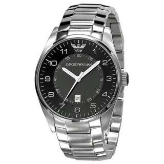 Authentic Brand New Emporio Armani mens stainless steel watch AR5863