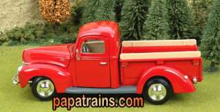 Die Cast Vintage 1940 Ford Pickup Truck G Scale 124