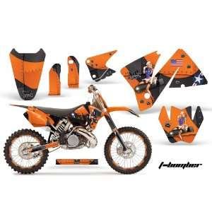 Amr Racing KTM C3 Sx, Exc, MXC Mx Dirt Bike Graphic Kit   2001 2002 T