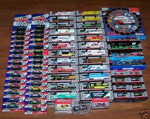 NASCAR 1991 97 Matchbox White Rose Collection  332 pcs