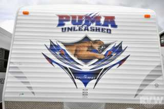 New 2012 Puma 27SBU Toy Hauler Camper by Palomino at RVWholesalers New