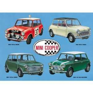 Austin Mini Cooper Collage