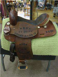 CORRIENTE WESTERN BARREL RACING, PLEASURE SADDLE