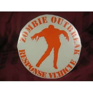 Zombie Outbreak response vehicle Vinyl decal sticker