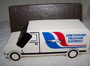 Greyhound Bus Package Express Diecast metal Truck Quartz Digital Time