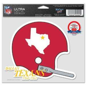 Kansas City Chiefs Ultra decals 5 x 6   colored Sports