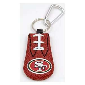 San Francisco Football Keychain