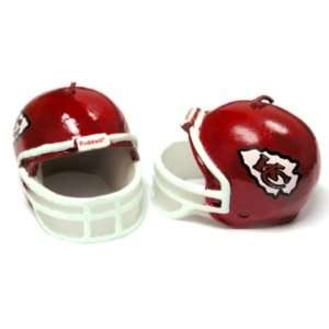 Kansas City Chiefs NFL Birthday Helmet Candle 2 Packs