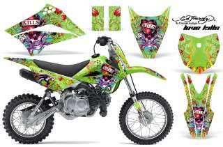 AMR RACING OFF ROAD DECAL MX DIRT BIKE WRAP KAWASAKI KLX 110 10 12 ED