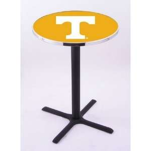 Tennessee Pub Table w/ Four Prong Flat Base Everything