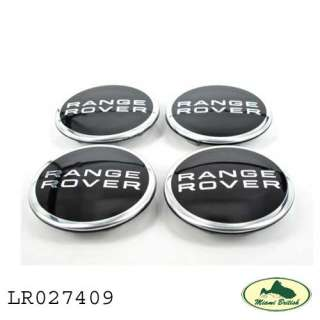 LAND ROVER RANGE HSE EVOQUE SPORT WHEEL RIM CENTER COVER CAP SET